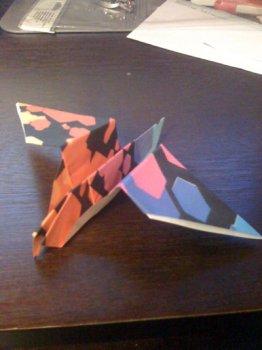 Голубь оригами