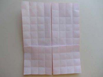Ваза оригами