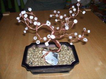 Дерево бонсай из бисера