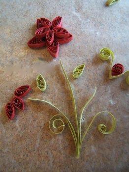 Квиллинг: розы