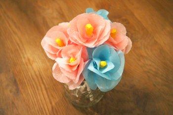 Цветы из бумаги - 12 мастер классов