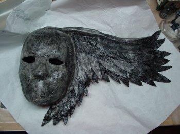 Маска темного ангела своими руками