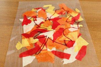 Осенние листья из бумаги своими руками