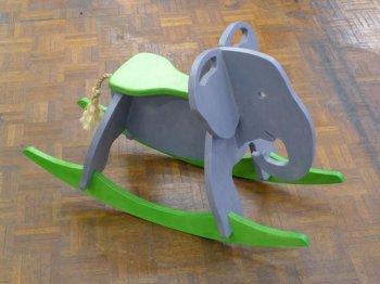 Детская качалка слон своими руками