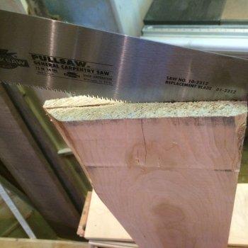Как нарезать доски ручным инструментом