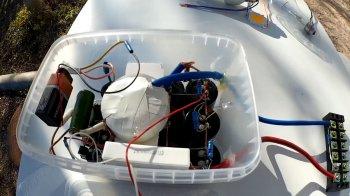 Подключаем LED 100W и лампочку к 1000 вольтам