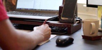 Настольная подставка для ноутбука своими руками