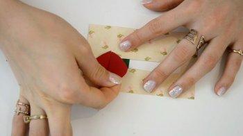 Открытка ко Дню Святого Валентина своими руками