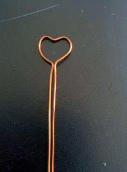 Кольцо с сердцем своими руками